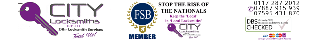 City Locksmiths Bristol Logo - Emergency Locksmiths Bristol